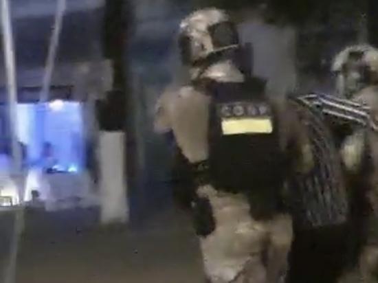 Ночью в Рязани СОБР задержал несколько человек