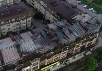 Вероятной причиной возгорания кровли дома в Горячем Ключе назван кондиционер