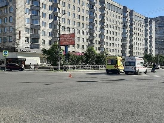 В Архангельске произошло ДТП с участием «скорой помощи»: погиб пешеход
