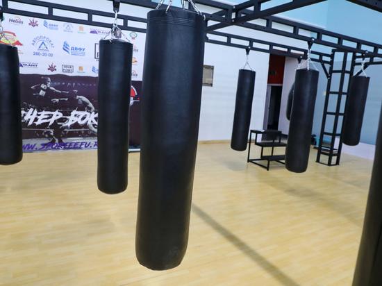 Национальная сборная по боксу готовится к Олимпиаде во Владивостоке