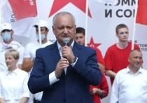 Додон: Это последний шанс для Молдовы