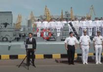Президент Украины Владимир Зеленский 4 июля прибыл в Одессу на празднование Дня военно-морских сил «незалежной»