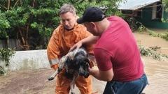 Крым: взбесившиеся реки затопили село в Бахичсарайском районе