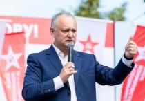 Додон: Граждане выразили поддержку Блоку коммунистов и социалистов