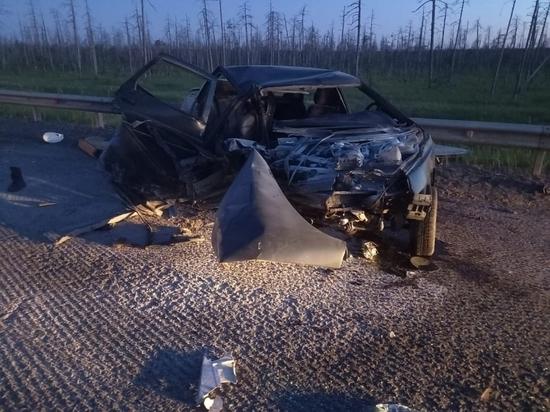 В Вельском районе столкнулись три автомобиля, пострадал мужчина