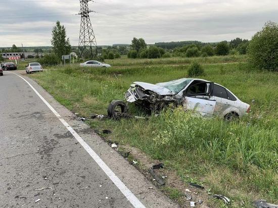 На дороге в Марий Эл двое детей пострадали в ДТП