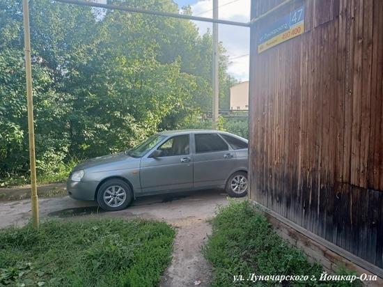 В Йошкар-Оле 14-летний мальчик выбежал под колеса автомашины