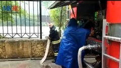 В Хостинском районе Сочи затопило больницу