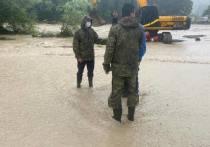 Кондратьев выехал на место подтоплений в Сочи, чтобы оценить ситуацию