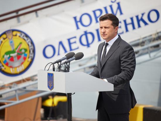 ВМС Украины с помпой отметили день флота