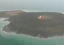 Взрыв в акватории Каспийского моря, который изначально приняли за ЧП на одной из азербайджанских нефтяных платформ, оказался извержением грязевого вулкана на острове Дашлы в 30 км от берега