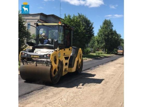В Йошкар-Оле начат ремонт улицы Нолька