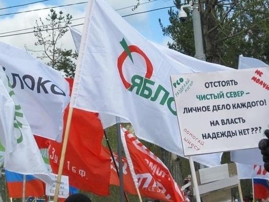 «Яблоко» определилось с кандидатами в Госдуму по Архангельской области