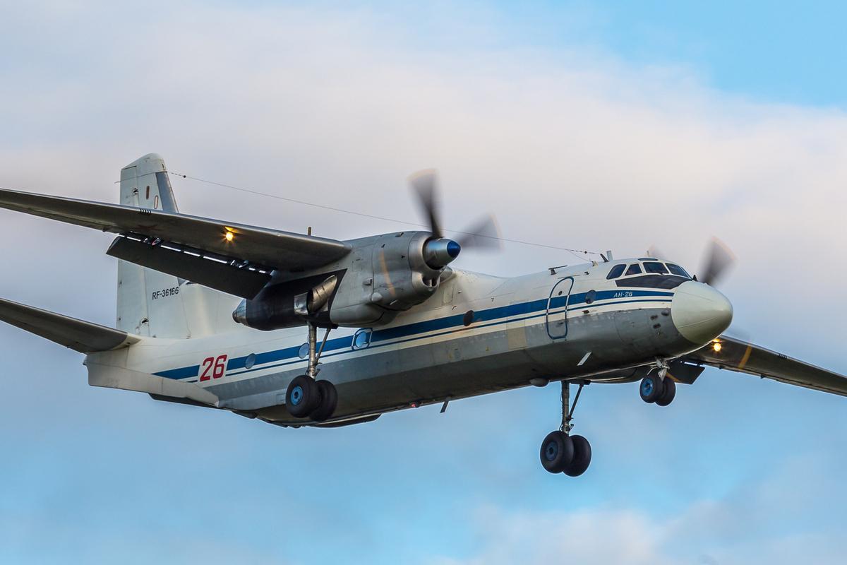 На Камчатке разбился самолет АН-26 возле столицы Корякии ...