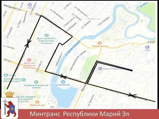 В Йошкар-Оле изменили схему движения маршрутки № 16