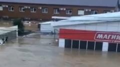 Посёлок в Туапсинском районе оказался под водой