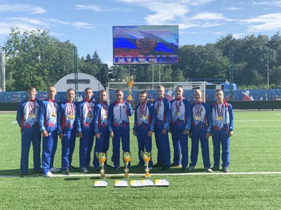 Пензенские спортсмены взяли 1 место на Спартакиаде молодежи России