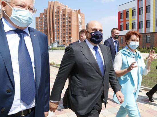 Премьер проверил, как развивается образование в Сибири