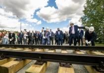 Федеральный министр дал старт строительству новой трамвайной линии в Екатеринбурге