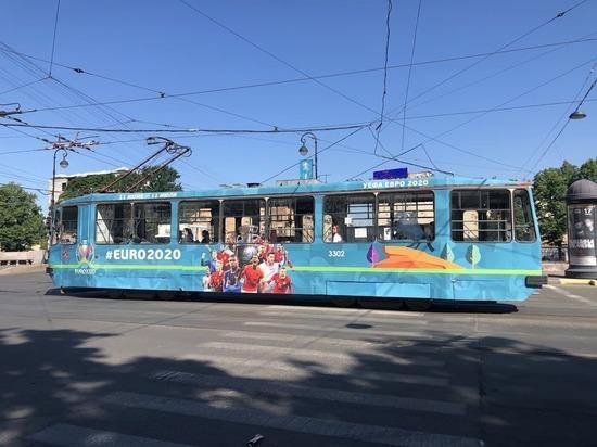 За время Евро-2020 в Петербурге общественным транспортом бесплатно воспользовались 330 тысяч человек