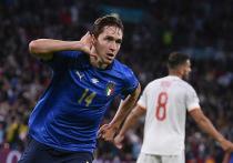 В первом полуфинале чемпионата Европы по футболу встретились Италия и Испания