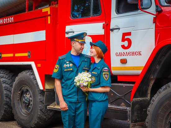 Николай и Екатерина работают в МЧС
