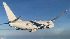 Черноморский флот показал видео сопровождения американского самолета-шпиона парой Су-30
