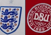 """В среду, 7 июля, на стадионе """"Уэмбли"""" в Лондоне состоялся матч 1/2 финала чемпионата Европы по футболу-2020 между сборными Англии и Дании"""