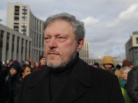 """Явлинский призвал сторонников Навального не голосовать за """"Яблоко"""""""