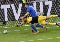 Сборная Италии обыграла в серии послематчевых пенальти Испанию и стала первым финалистом чемпионата Европы по футболу