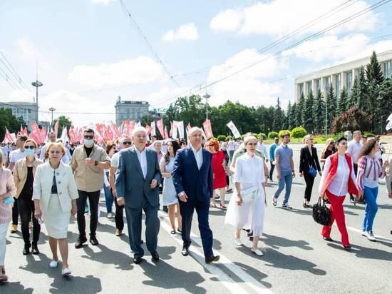 В минувшее воскресенье, 4 июля, в Кишиневе прошли Марш и митинг, организованные избирательным Блоком коммунистов и социалистов