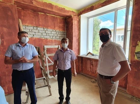 В Моркинском районе Марий Эл ремонтируется школа искусств