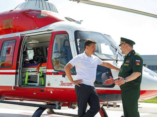 Губернатор Андрей Воробьев с медиками 3-го Центрального военного госпиталя  Минобороны РФ обсудил вопросы оказания оперативной помощи пострадавшим в ДТП