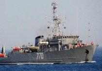 Экипаж «Валентина Пикуля» искал мины в Керченском проливе