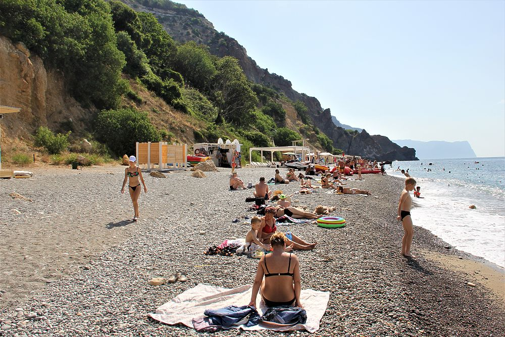 Куротный сезон-2021: в каком состоянии находится самый лучший пляж Крыма