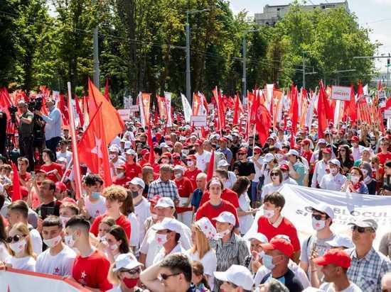 Блок коммунистов и социалистов проведет 9 июля, в 12.00, протест у ВСП