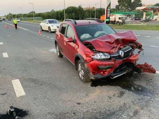 В Марий Эл при столкновении автомобилей пострадали два ребенка