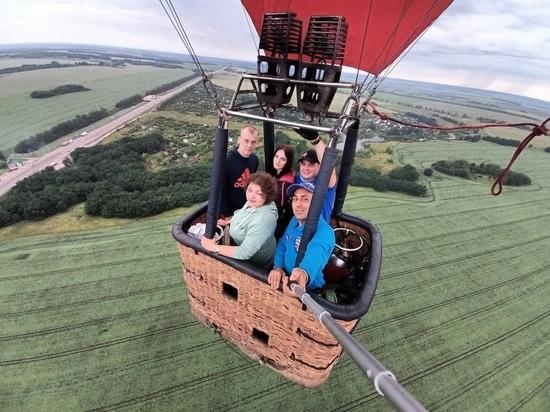 Почти 400 полётов на воздушном шаре совершил тамбовчанин Павел Воронин