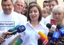 Президент Молдовы утверждает, что голосовала за «честный парламент»