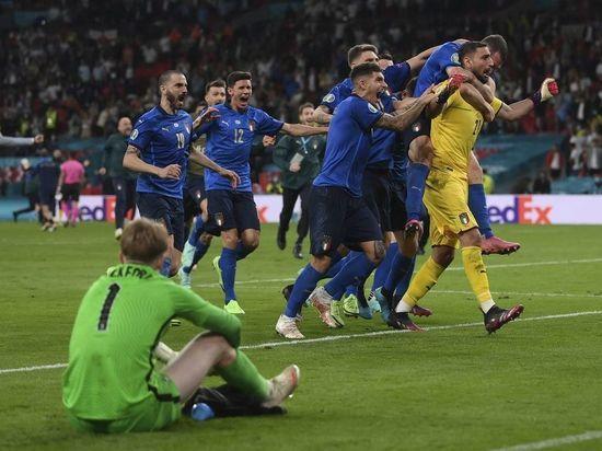 Команда Роберто Манчини стала чемпионом Европы