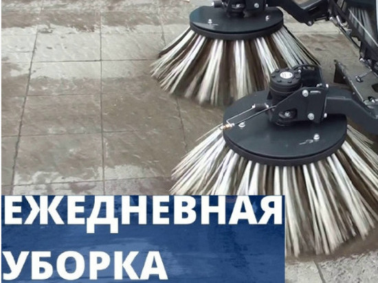 Более 110 кубометров смета было убрано с улиц Мурманска