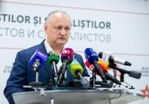 Додон: ПДС получила полную монополию на молдавскую политику