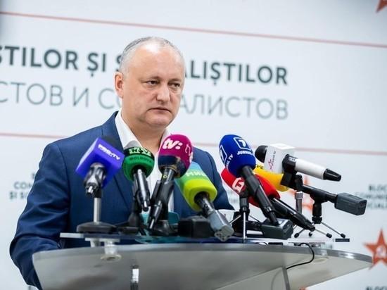 Блок коммунистов и социалистов показал на прошедших выборах достойный результат, заявил председатель ПСРМ Игорь Додон