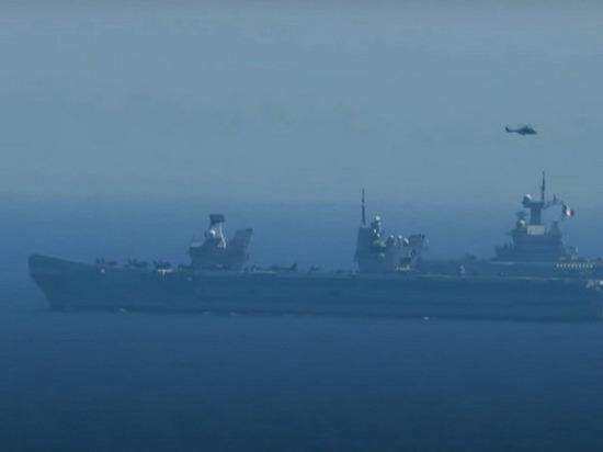 По легенде учений чужие суда были уничтожены ракетными ударами и огнем артиллерии
