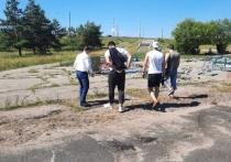 Нашумевшую спортплощадку в сквере Волкова Калуги решили подвинуть