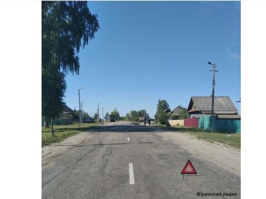 В Юринском районе Марий Эл погиб мотоциклист