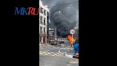 В Геленджике произошёл взрыв газа: видео с места происшествия