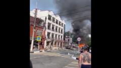 Последствия взрыва газа в Геленджике попали на видео