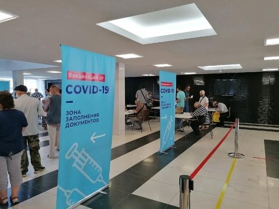 30 медсестер и военные врачи: что происходит на пункте вакцинации от коронавируса в ГКЗ в Туле
