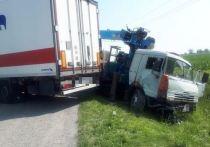 Два большегруза столкнулись в Северной Осетии